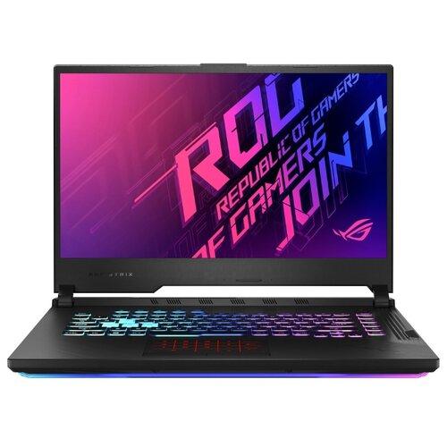 Ноутбук ASUS ROG Strix G15 G512LV-HN246T (90NR04D1-M04540), черный ноутбук asus rog strix g15 g512lv hn248t 90nr04d3 m04570 electro punk
