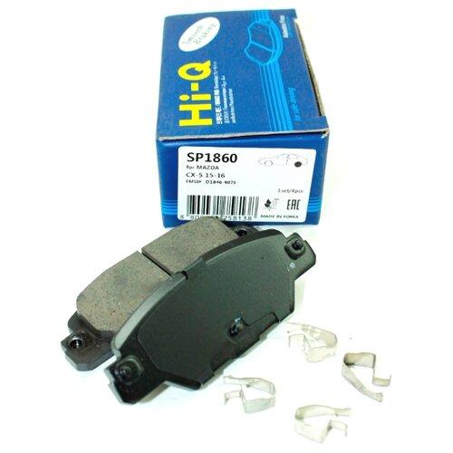 Дисковые тормозные колодки задние SANGSIN BRAKE SP1860 для Mazda CX-5 (4 шт.) фото