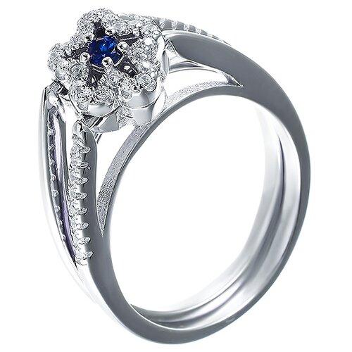 Фото - ELEMENT47 Кольцо из серебра 925 пробы с фианитами CAR2926-KO-002-WG, размер 16.75 jv кольцо с фианитами из серебра car2926 ko 004 wg размер 16