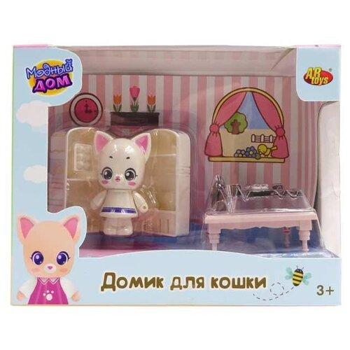 Игровой набор ABtoys Уютный дом - Домик для кошки. Кухня PT-01309