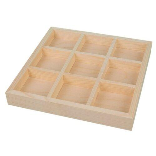Купить Mr. Carving Заготовка для декорирования Органайзер ВД-364 бежевый, Декоративные элементы и материалы
