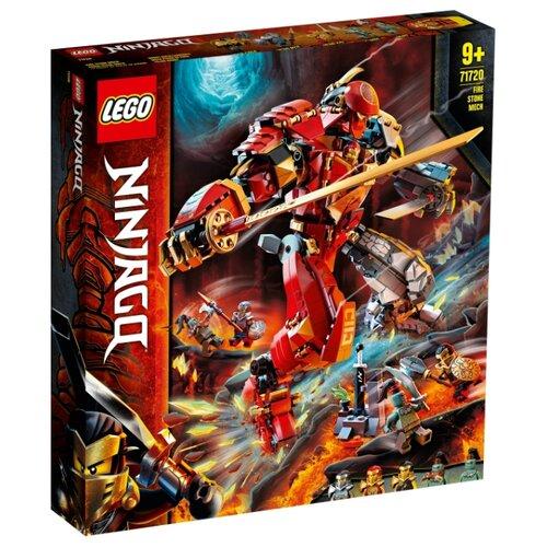 Купить Конструктор LEGO Ninjago 71720 Каменный робот огня, Конструкторы
