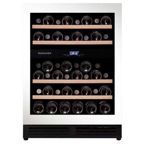Встраиваемый винный шкаф Dunavox DAU-45.125DW.TO