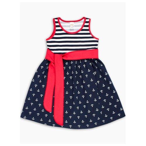 Платье Веселый Малыш размер 116, синий