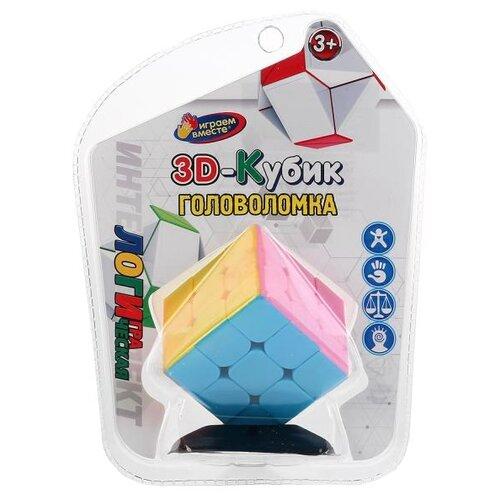 Головоломка Играем вместе 3D-кубик головоломка разноцветный головоломка играем вместе фиксики