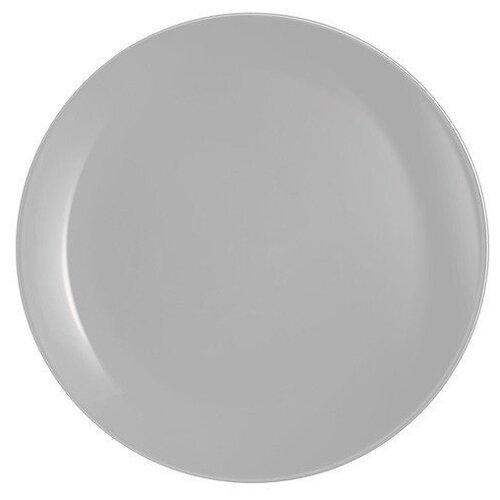 Фото - Тарелка обеденная Luminarc Diwali grey, 25 см тарелка обеденная 26 см luminarc arty marine
