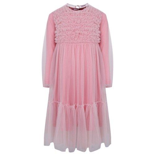 Платье Il Gufo размер 140, розовый, Платья и сарафаны  - купить со скидкой