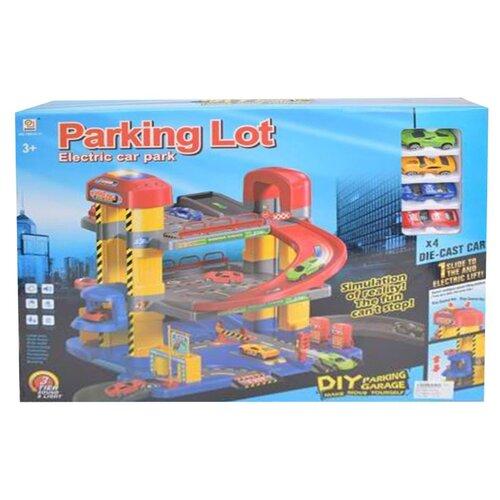 Qingdi 1801A-11 разноцветный, Детские парковки и гаражи  - купить со скидкой
