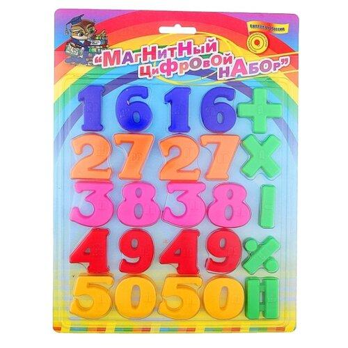 Набор цифр Эра Магнитно-цифровой набор Т3 С-278 разноцветный, Обучающие материалы и авторские методики  - купить со скидкой