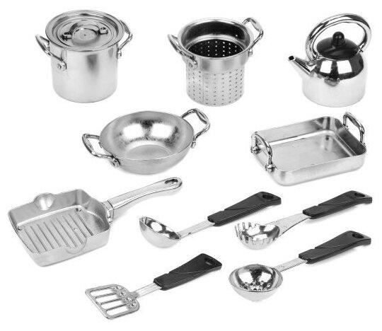 Набор посуды Наша игрушка шеф-повара LN298B