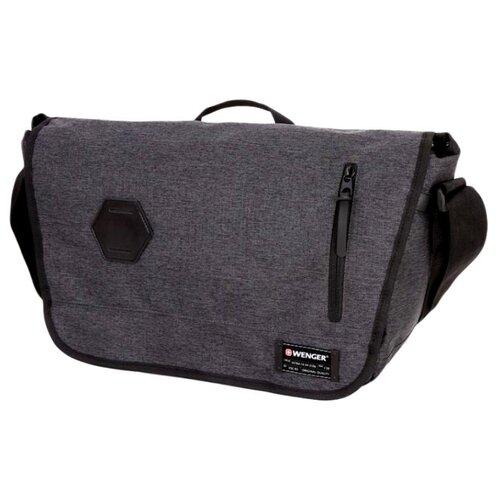 Сумка WENGER, текстиль, серый сумка wenger 606462 черный