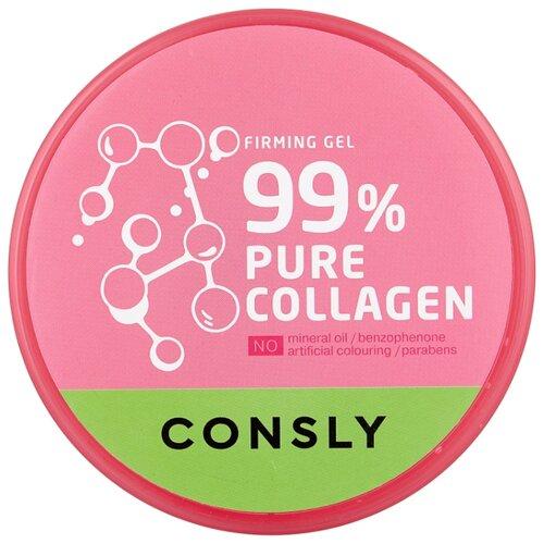 Фото - Гель для тела Consly Pure Collagen Firming Gel укрепляющий с коллагеном, 300 мл гель маникюр для волос haken premium pearll pure gel color crystal clear 220 г