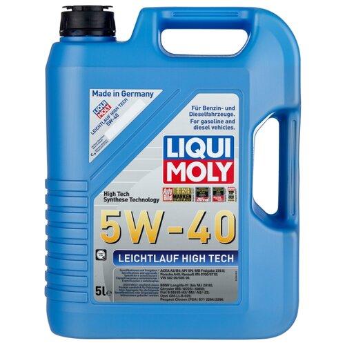 Моторное масло LIQUI MOLY Leichtlauf High Tech 5W-40 5 л