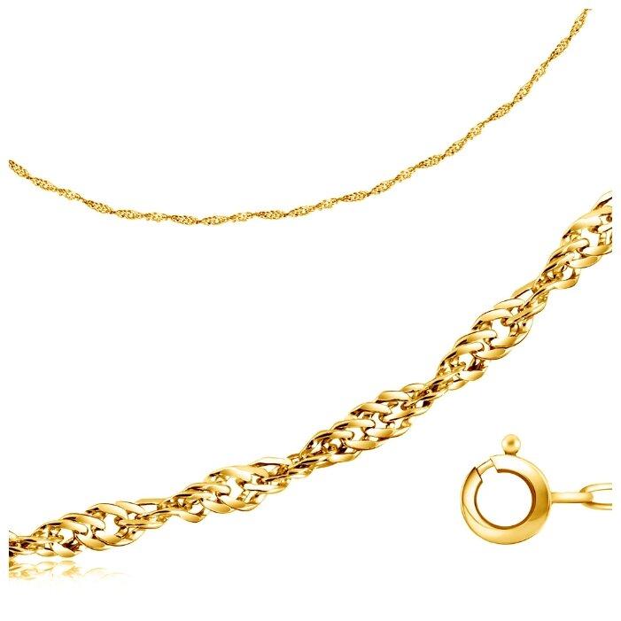 Бронницкий Ювелир Цепь из желтого золота 510250227