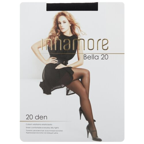 цена Колготки Innamore Bella 20 den, размер 4-L, nero (черный) онлайн в 2017 году