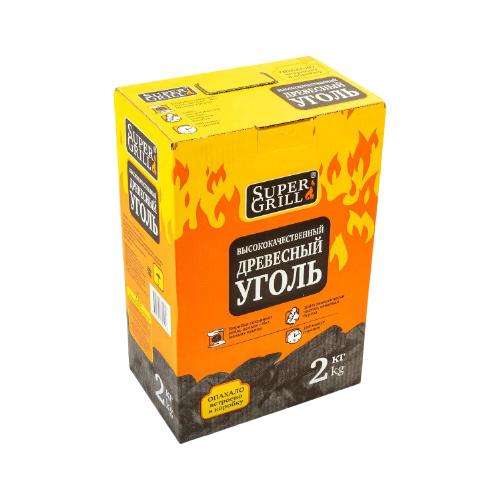 SuperGrill Уголь березовый 2 кг.