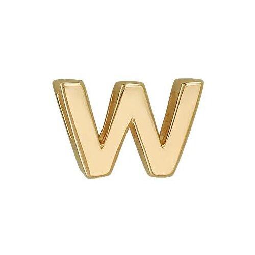 Эстет Подвеска из золота буква W 01П03002WW