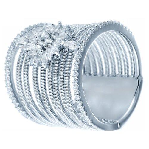 Фото - JV Серебряное кольцо с кубическим цирконием DM2213R-KO-001-WG, размер 18 jv серебряное кольцо с кубическим цирконием dm0026r ko 001 wg размер 18