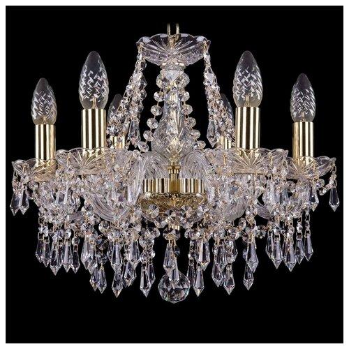 Люстра Bohemia Ivele Crystal 1403 1403/6/141/G, E14, 240 Вт часы 14 6 см crystal bohemia