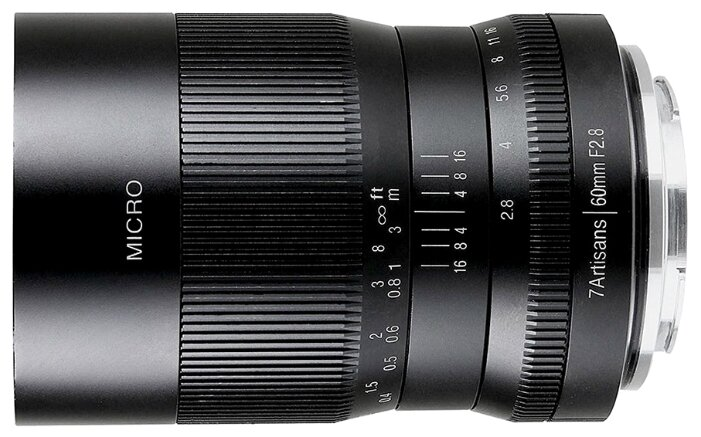 Объектив 7artisans 60mm f/2.8 MACRO Fujifilm X