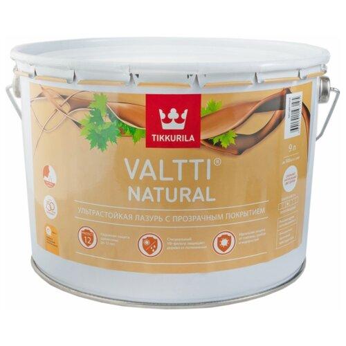 Водозащитная пропитка Tikkurila Valtti Natural бесцветный 9 л