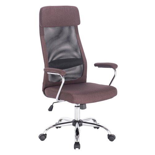 Компьютерное кресло Brabix Flight EX-540 для руководителя, обивка: текстиль, цвет: коричневый
