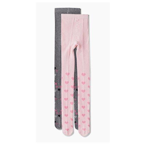 Купить Колготки АЙАС размер 128/134, розовый/серый