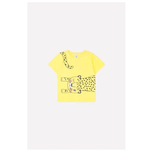 Купить Футболка crockid размер 68, сочный лимон, Футболки и рубашки