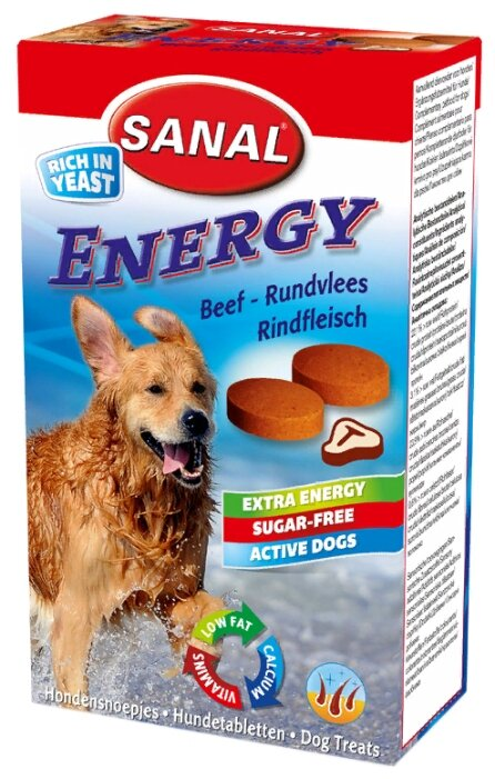 Лакомство для собак SANAL Energy мультивитаминное