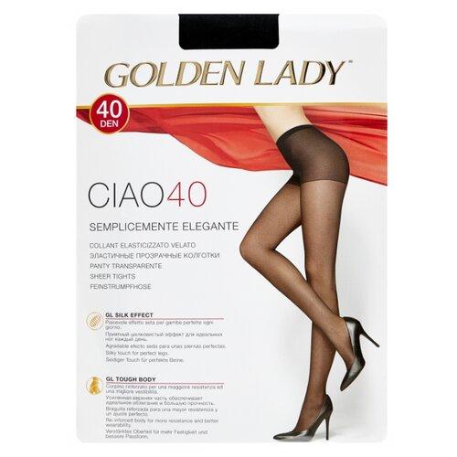Колготки Golden Lady Ciao 40 den, размер 5-XL, nero (черный) колготки golden lady ciao 20 den размер 3 m nero черный