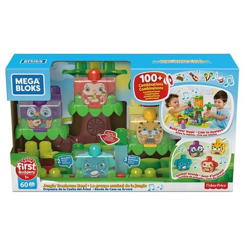 Конструктор Mega Bloks First Builders GGG11 Джунгли зовут