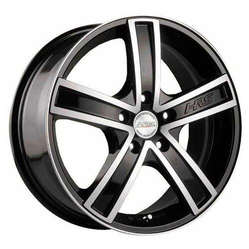 Фото - Колесный диск Racing Wheels H-412 7.5x18/5x100 D73.1 ET25 BK F/P dvc 412