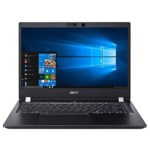 "Ноутбук Acer TravelMate X3 TMX314-51-M-72UR (Intel Core i7 8565U 1800MHz/14""/1920x1080/8GB/256GB SSD/DVD нет/Intel UHD Graphics 620/Wi-Fi/Bluetooth/Windows 10 Pro) NX.VJSER.007 темно-серый"