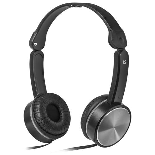 цена на Наушники Defender Accord-145 черный/серый