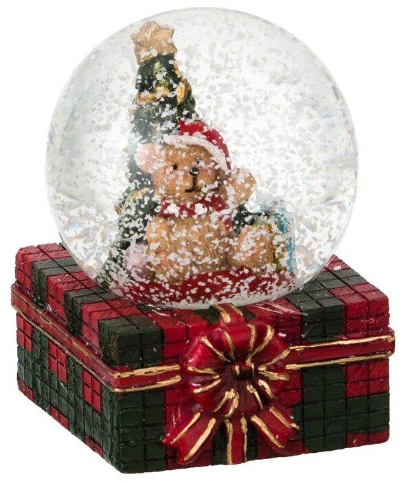 Снежный шар Lefard, 4,5*4,5*6,5 см, мишка 175-190