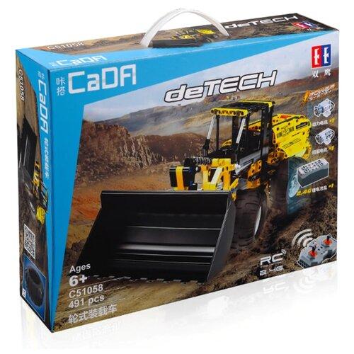 Конструктор Double Eagle CaDA deTECH C51058W Колесный погрузчик конструктор cada detech порше 918 421 деталь