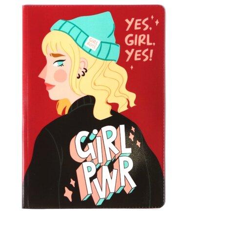 Ukid MARKET Обложка для паспорт Girl PWR