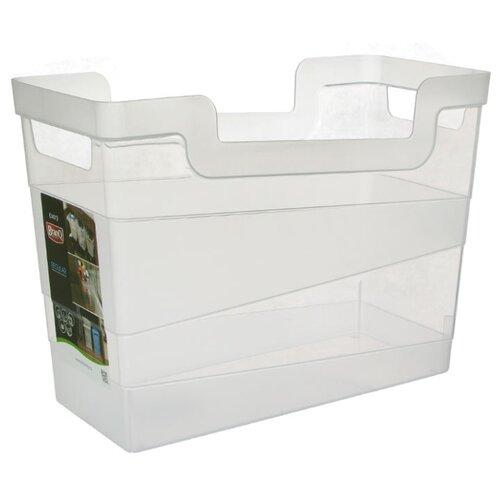 BranQ Контейнер хозяйственный 7 л 33,8x20,1x16 см прозрачный branq контейнер хозяйственный 12 5 л 45х16×25 5 см прозрачный