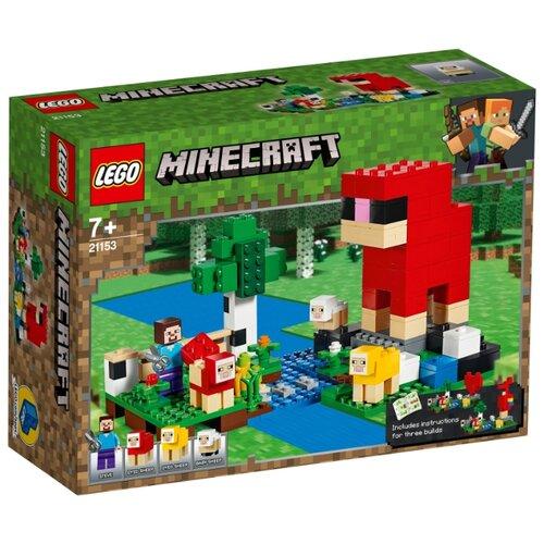 Конструктор LEGO Minecraft 21153 Шерстяная ферма