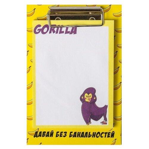 Купить ArtFox бок с липким краем на планшете Gorilla (4695698) белый/желтый, Бумага для заметок