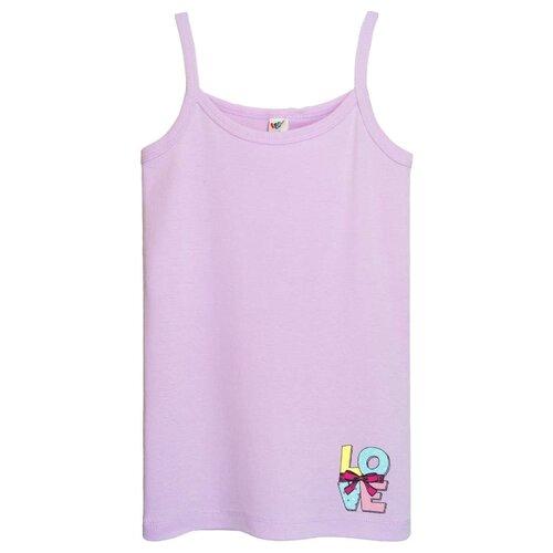 Купить Майка Let's Go размер 140, фиолетовый, Белье и купальники