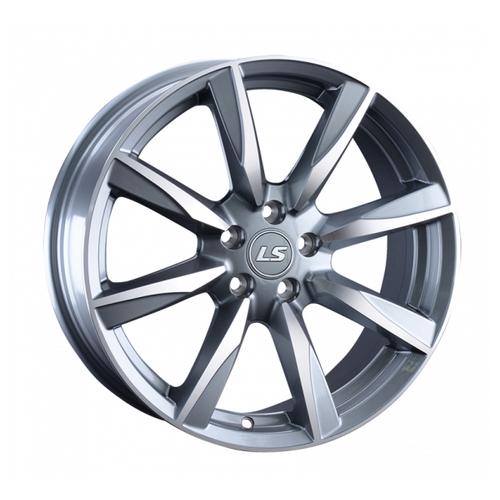 Фото - Колесный диск LS Wheels LS981 7х17/5х100 D57.1 ET40, GMF колесный диск ls wheels ls570 7x16 5x114 3 d73 1 et40 hp