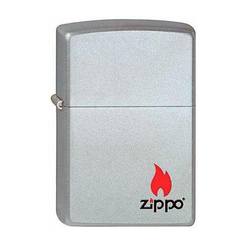Фото - Zippo Classic зажигалка бензиновая Zippo Satin Chrome zippo zippo 24935