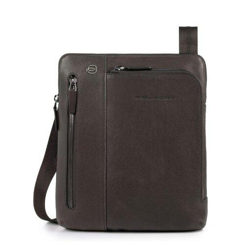 сумка планшет piquadro натуральная кожа табачный Сумка планшет PIQUADRO, натуральная кожа, темно-коричневый