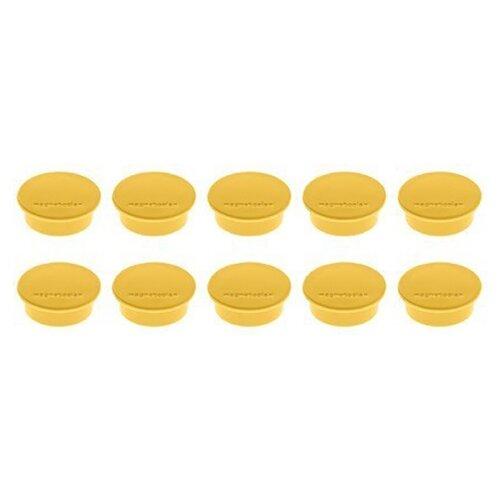 Купить Магниты для доски Magnetoplan Standart 1664200/1664202/1664205 желтый, Доски