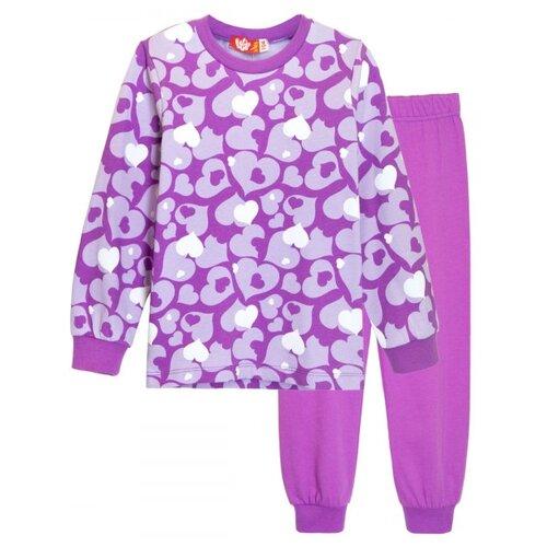 Купить Пижама Let's Go размер 98, фиолетовый, Домашняя одежда