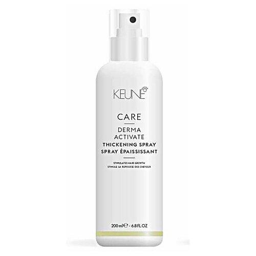 Keune Derma Activating Укрепляющий спрей против выпадения волос для волос, 200 мл ducray неоптид лосьон от выпадения волос для мужчин 100 мл