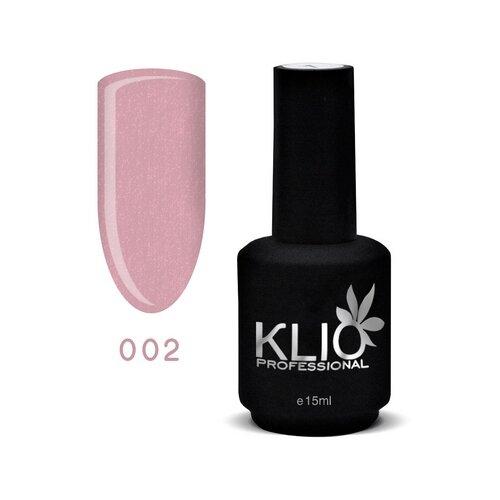 KLIO Professional базовое покрытие Glitter Base 15 мл 002
