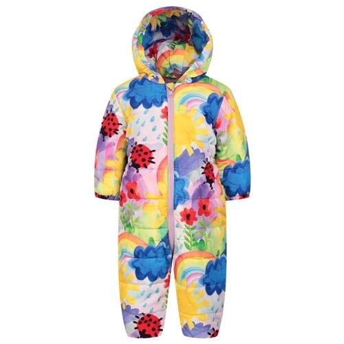 Купить Комбинезон Stella McCartney размер 62, разноцветный, Теплые комбинезоны