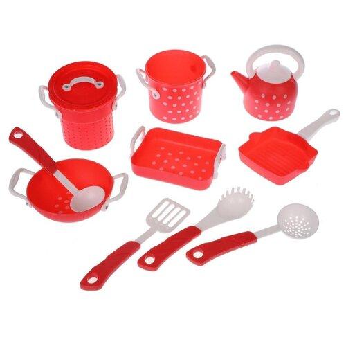 Набор посуды Наша игрушка LN197B белый